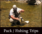 pack and fishing trips