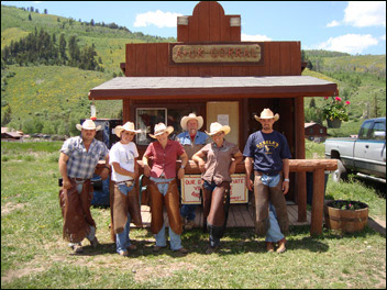gang at the A-OK Corral